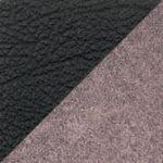 комбинированный экокожа/микрофибра (PU чёрный/MF бежевый)
